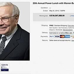 20-ти ежегоден обяд с Уорън Бъфет в помощ на фондация GLIDE - 4,5 млн. долара